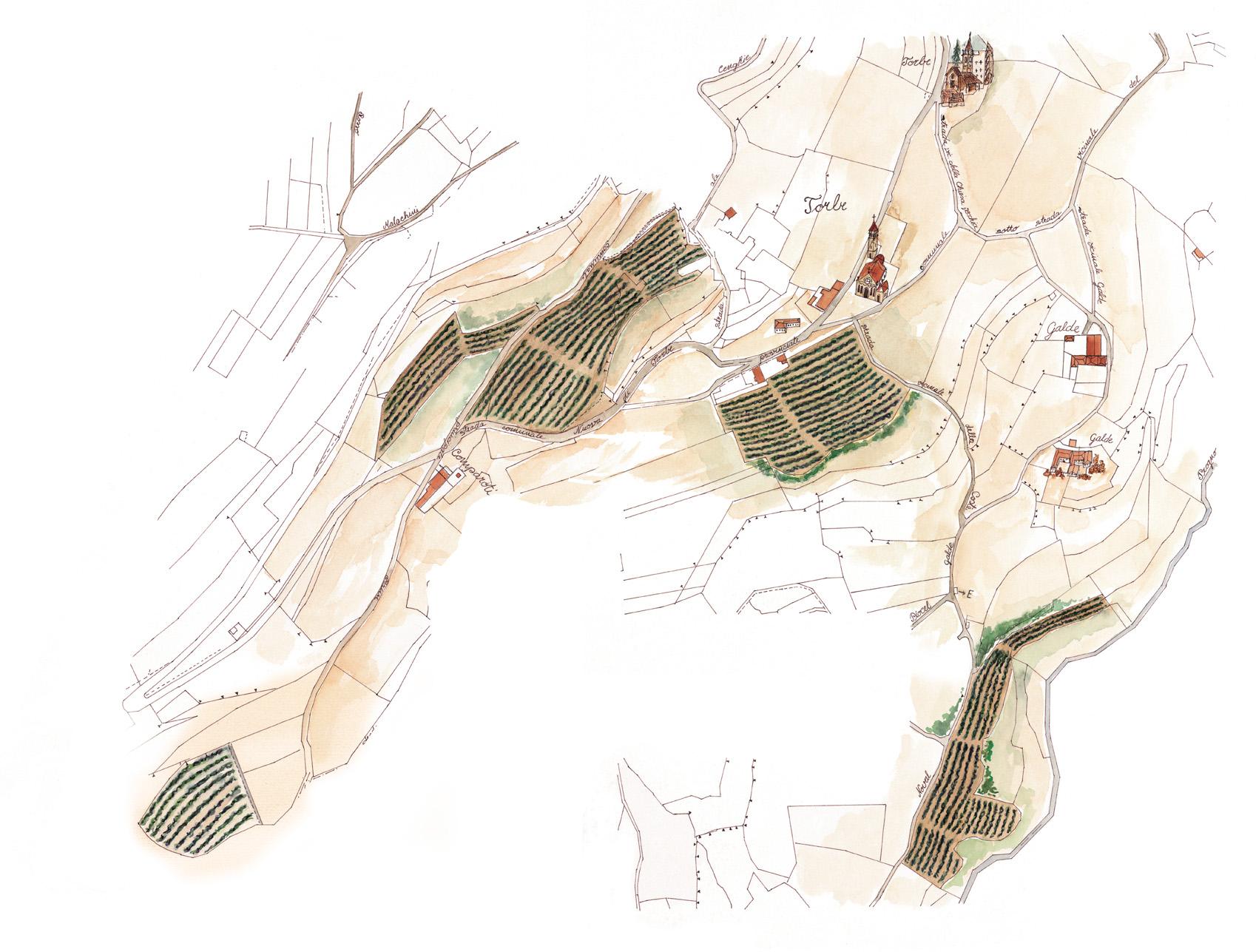 Mappa Campolongo