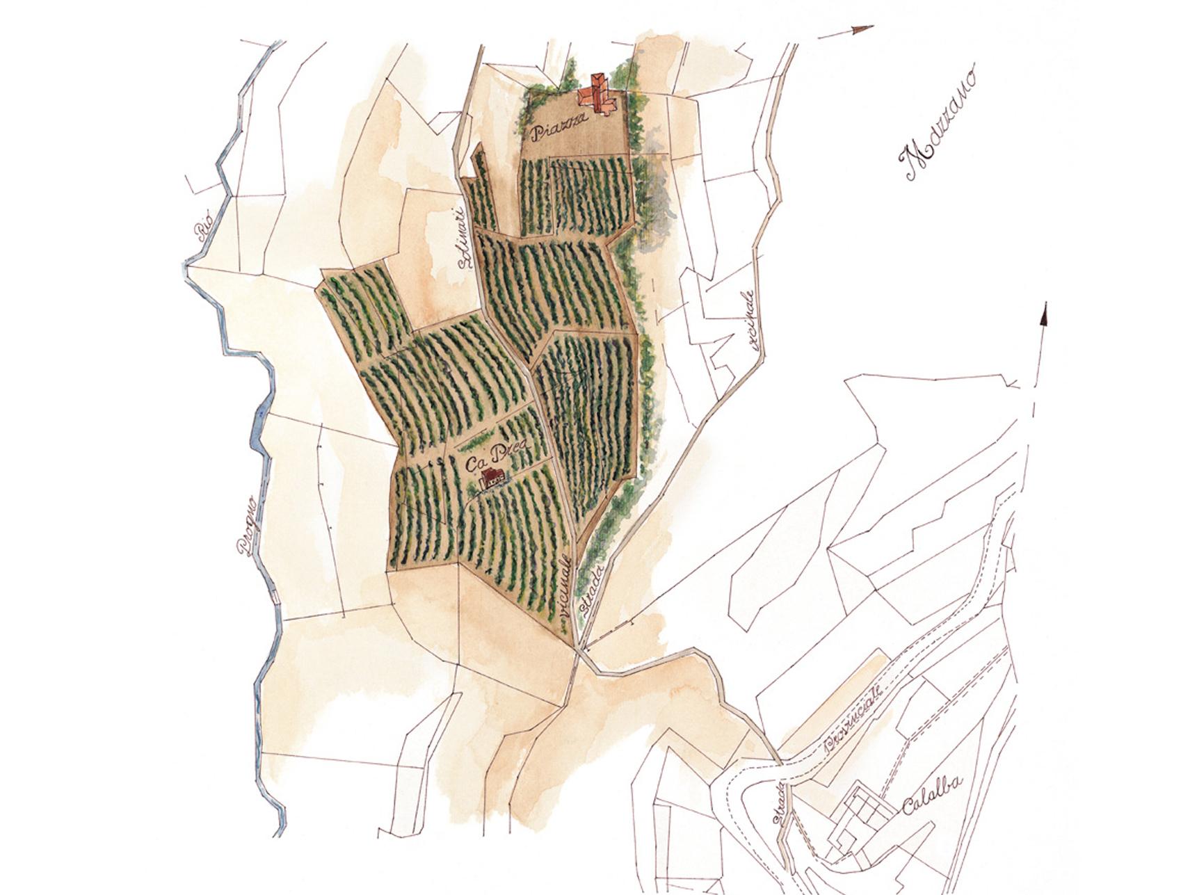 Mappa Mazzano