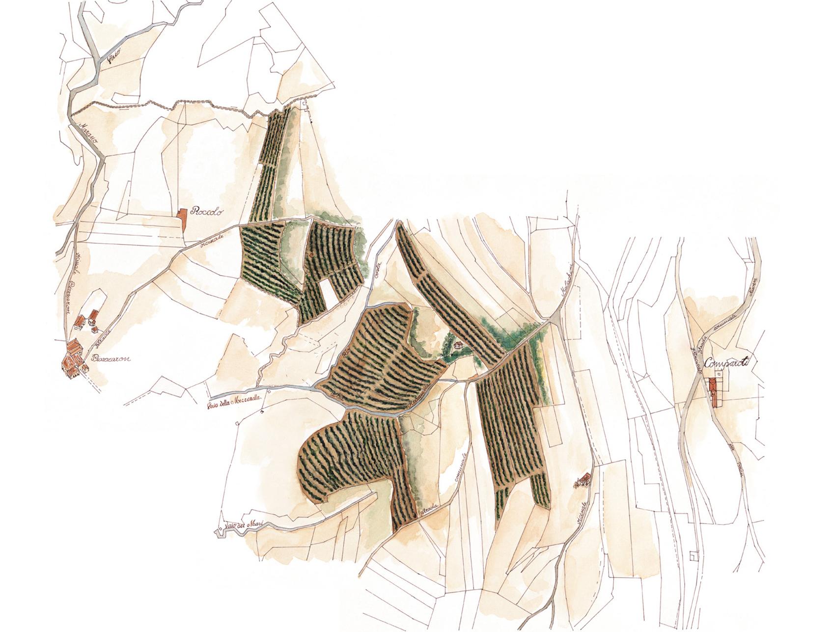 Mappa Mezzanella