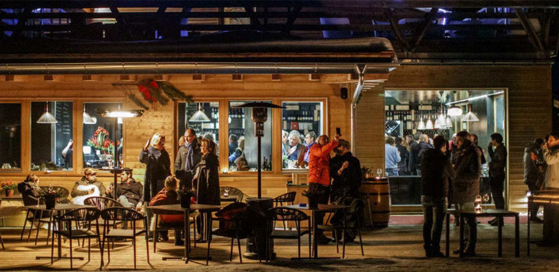 Apertura del Masi Wine Bar a Cortina