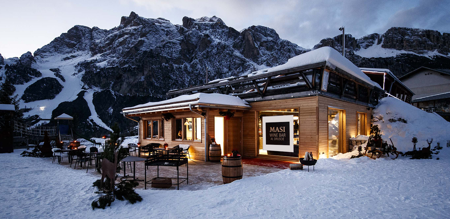 Masi Wine Bar Cortina on the slopes for the 2026 Winter Olympics