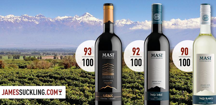 Suckling praises Masi's Italo-Argentine fine wines